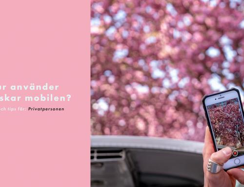 Hur använder svenskar mobilen?
