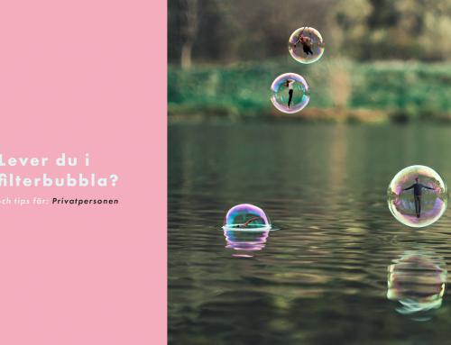 Lever du i en filterbubbla?