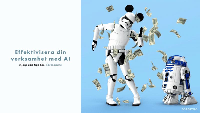 Effektivisera din verksamhet med AI