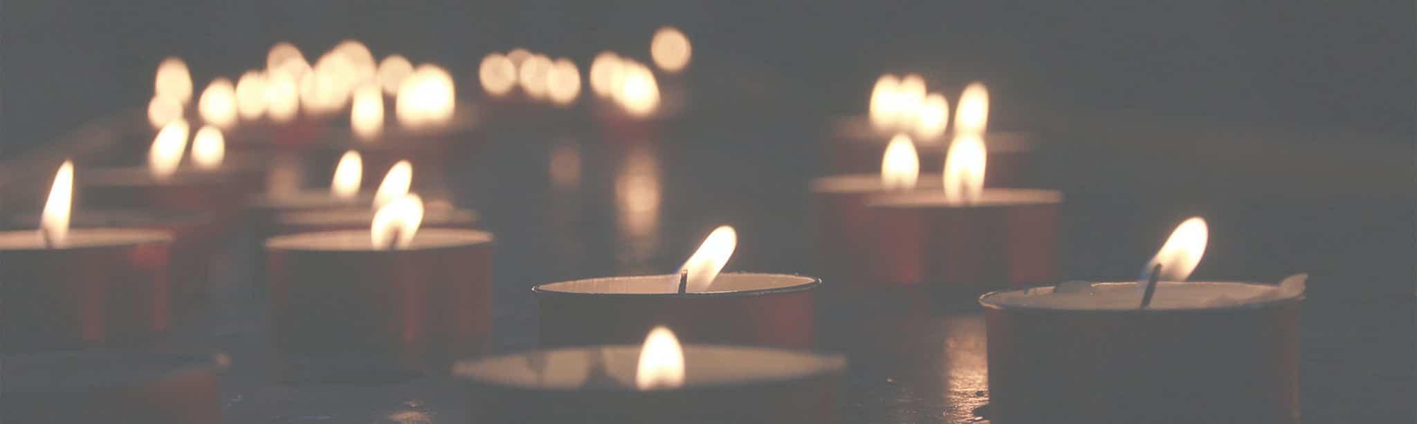 förebygg brand ljus på ett bord blogg